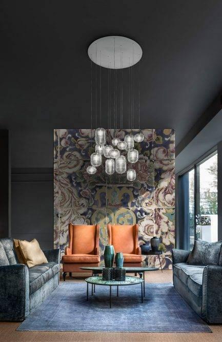 floral mural, designer wallpaper, custom wallpaper, interior design, interior decorating