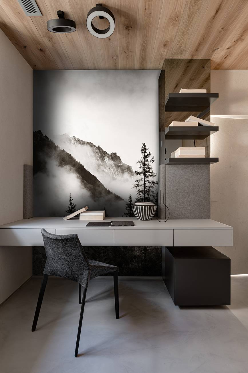 mural design, black wallpaper,  white wallpaper, bedroom wallpaper, living room wallpaper,  custom wallpaper, designer wallpaper, mural wallpaper, mural wallpaper in UAE, office wallpaper, hotel wallpaper