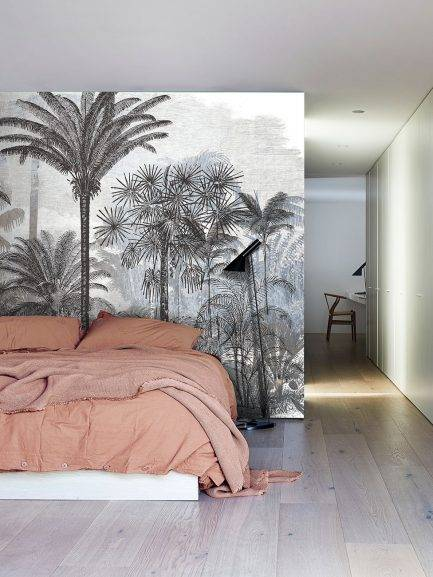 tropical interior design, wall mural, top interior ideas, home make over, interior desinger choice