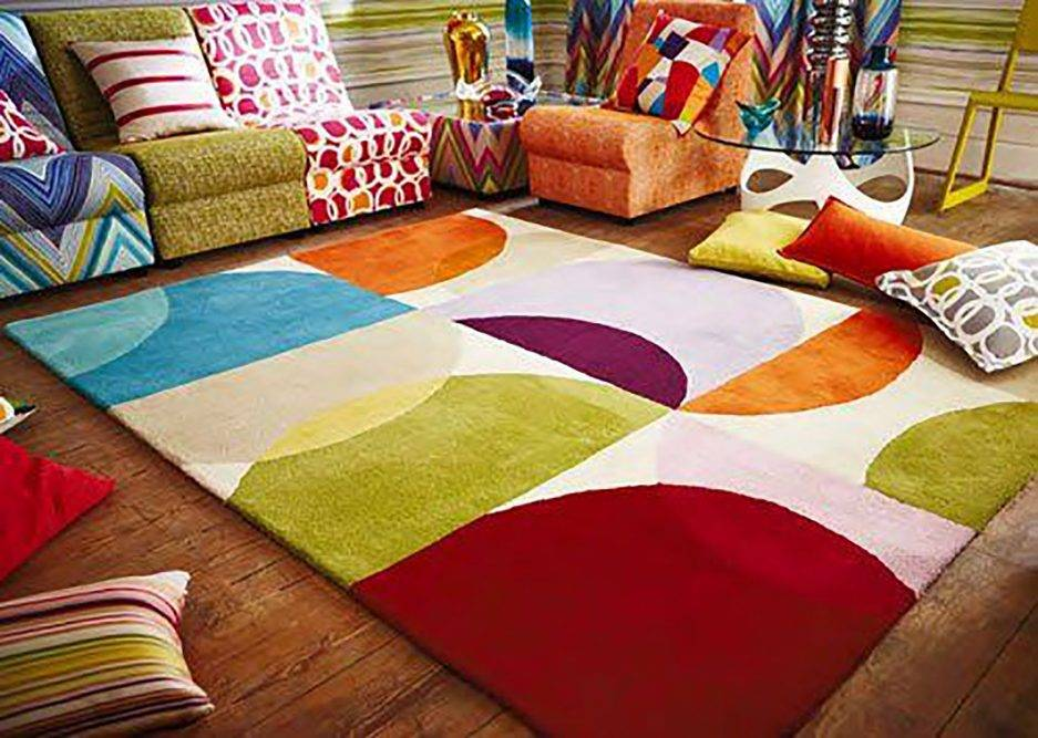 colorful rugs, carpet design, abstract rugs, contemporary interior