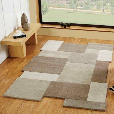 abstract rugs, grey carpet, transitional interior, modern rug design,
