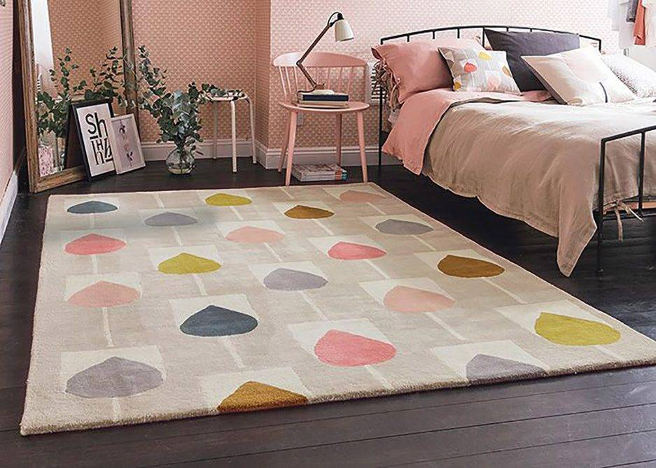 chic-shabby rugs, floral interior, girly design, trendy carpets,