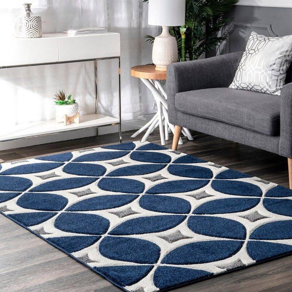 navy blue carpet, geometric carpet, hand tufted rugs, rug design