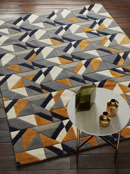 geometric carpet, multi colored rugs, persian rugs, rug design for office, home rug ideas