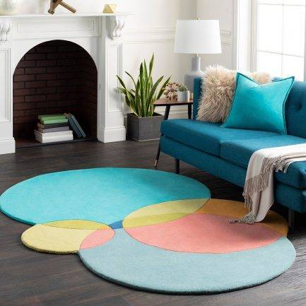 geometric rugs, bold carpet design, modern carpet ideas