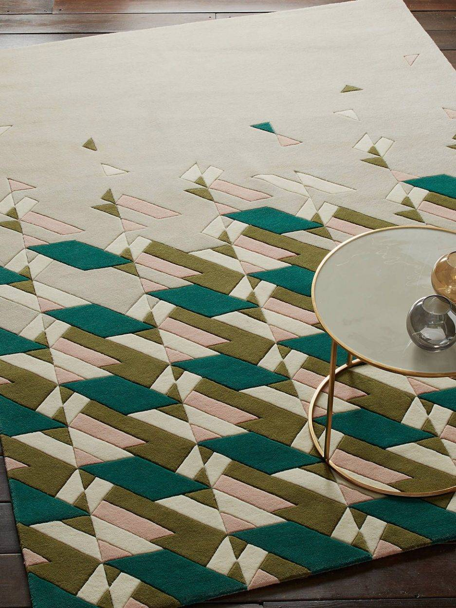 geometric carpet, top rug design, 2021 carpet trend, new carpet style