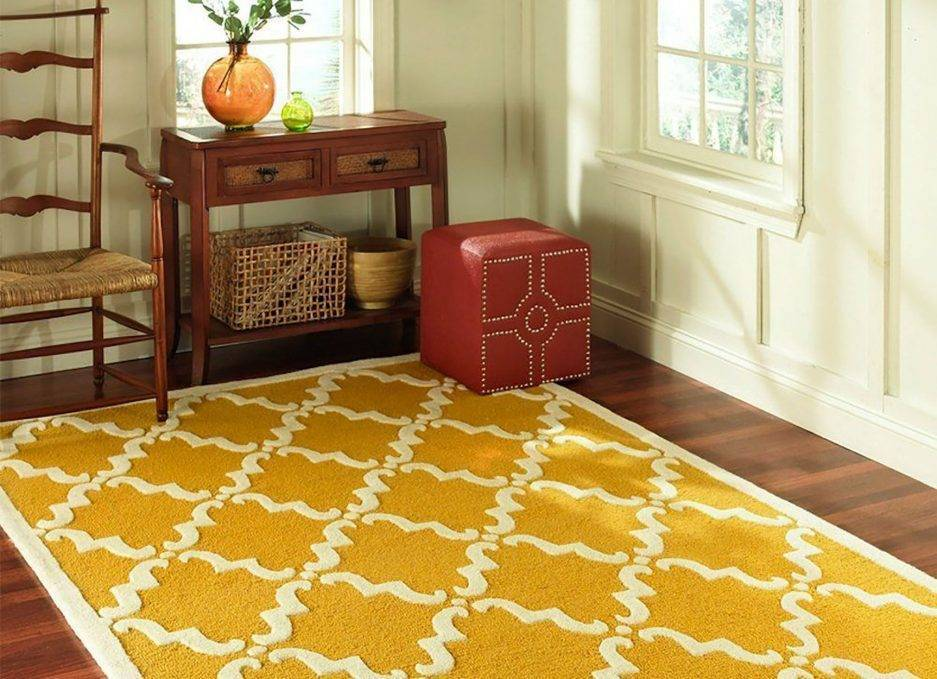 yellow rugs, geometric rugs, home interior rugs, commercial rugs ideas