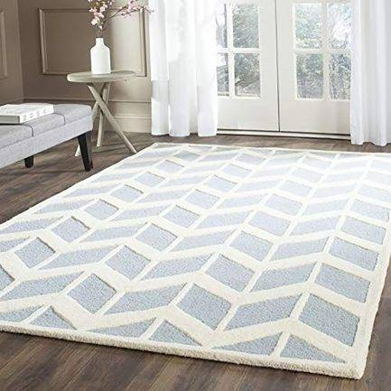 Equal parts pattern Rugis a handmade netherland wool with minimalist yet detailed pattern. This design is one of the top designer rug for home