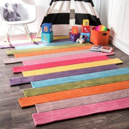 multi colored carpets, kids rugs, children carpet, fun carpet design
