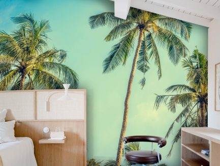botanical wallpaper, tropical wallpaper, elegant wallpaper, budget-friendly wallpaper